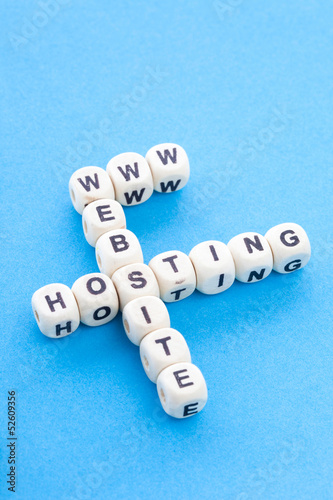 www website webhosting concept - Crossword Puzzle