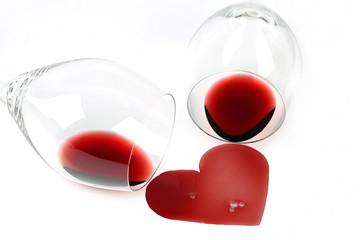 Herz aus Wein