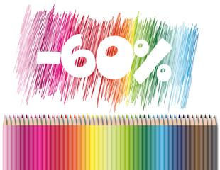 Promotion sur les fournitures scolaires : -60%