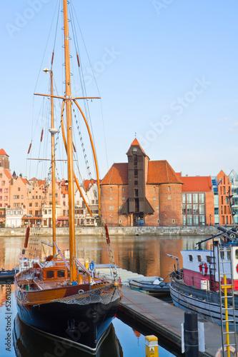 Harbour of Gdansk © neirfy