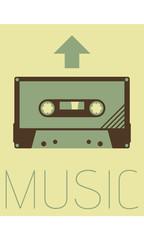 Vector Minimal Design - Music
