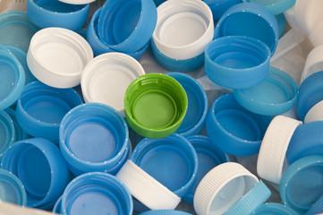 Water dringking recycle plastic cap