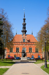 Town hall of old Gdansk