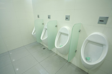 urinals at office