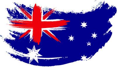 Australian Flag Sketched