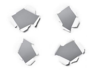 Papierdurchbruch 3