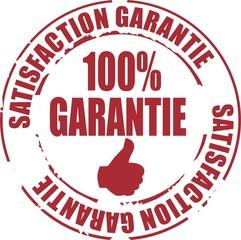 tampon 100% satisfaction garantie