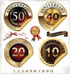Anniversary design element collection