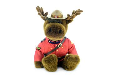 RCMP Moose doll