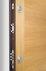 Wooden doors with lock 5
