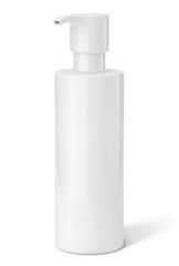 Gel douche sur fond blanc 3