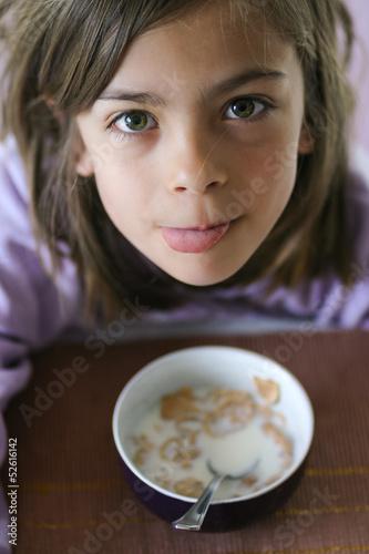 bol du petit-déjeuner