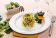 Tagliolini con tinca e bietole - italian pasta