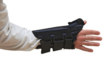 Wrist and Thumb Brace / Splint (back view)