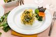 Fettuccine con tinca e bietole - Italian pasta