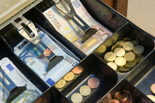 Drawer with money