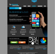 Website template for corporate business