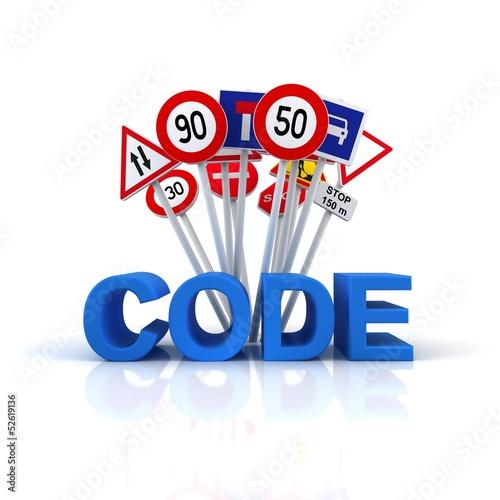 code auto école