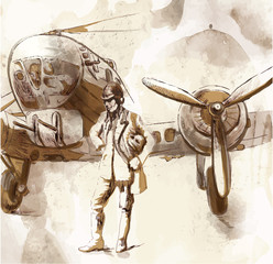 World between 1905-1949 - Pilot (drawing into vector)