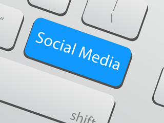 Social media keyboard button