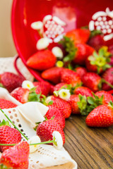strawberry decoration