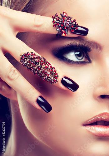 Fototapeten,manicure,makeup,nagel,nagel