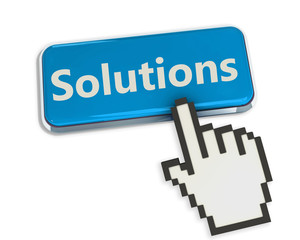 Hand cursor on solutions button