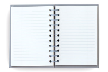 Open notebook.