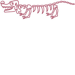 Doxie Skeleton
