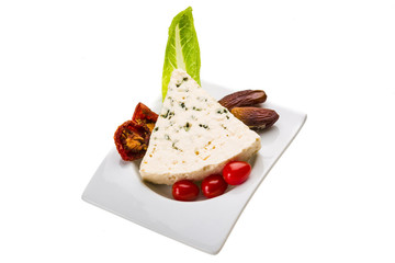 Spanish cheese with mould