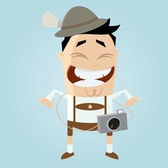 tourist in bayern