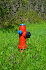 Lonely water hydrant.