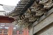 Architectural copper Dragon carving