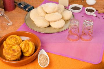 Moroccan food stil life