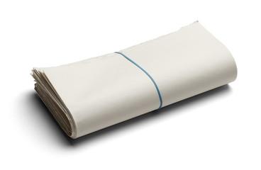 News Paper Folded