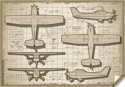 Old Plane Project in Five Views