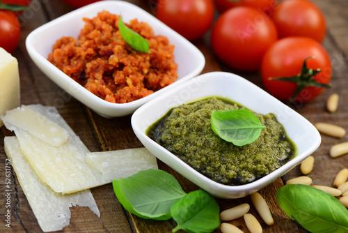 Pesto,Zutaten
