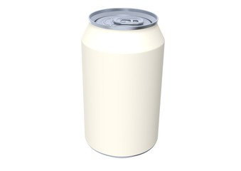 White soda can