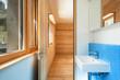 house modern design, interior, bathroom