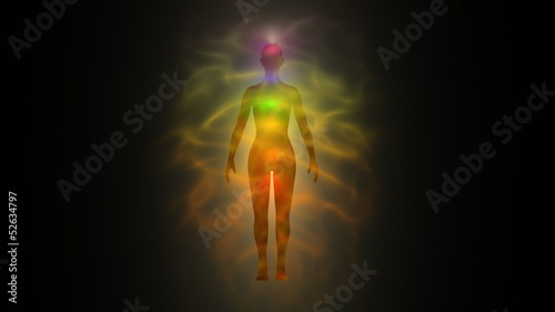 Aura - human energy body, chakras