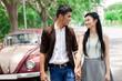 Couple's promenade