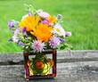 bouquet printanier, champêtre