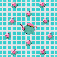 Tea Time Background