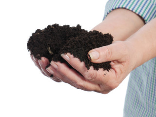 Fistful of soil