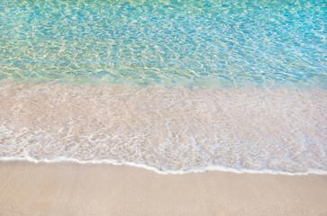 beautiful summer sea sandy beach