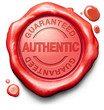 stamp guaranteed authentic