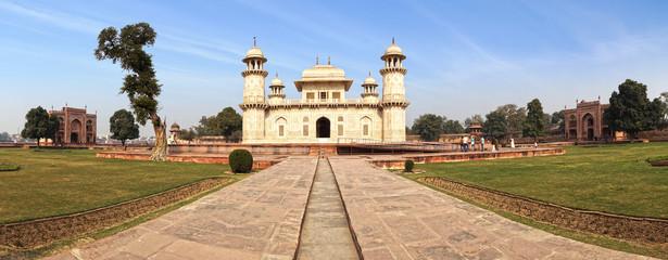 Itmad-ud-Daula's Tomb is a Mughal mausoleum.