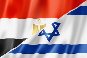 Egypt and Israel flag