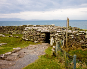 Ancient Dunbeg Promontory Fort  Ireland