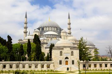 Suleymaniye mosque (Süleymaniye Camii), Istanbul, Turkey